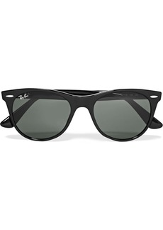 Ray-Ban The Wayfarer Ii Round-frame Acetate Sunglasses