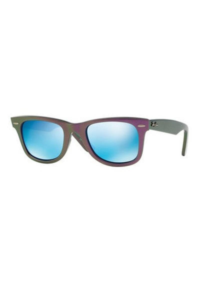Ray-Ban Two-Tone Square Plastic Sunglasses