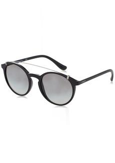 Ray-Ban Vogue VO 5161S W44/11  Plastic Round Sunglasses Grey Gradient Lens