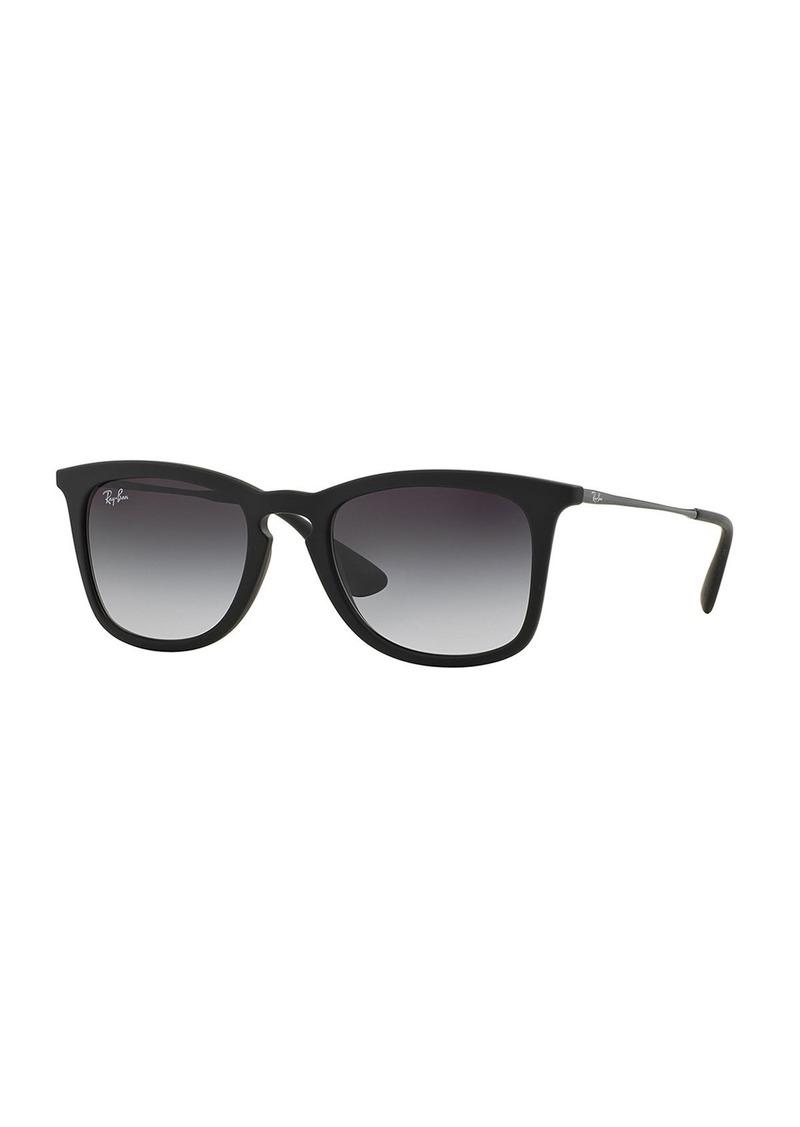 Ray-Ban Wayfarer Plastic Sunglasses  Matte Black