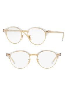 Women's Ray-Ban 4246V 49mm Optical Glasses - Transparent