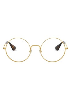 Women's Ray-Ban 50mm Optical Glasses - Gold