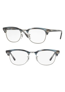 Women's Ray-Ban 5154 51mm Optical Glasses - Blue Stripe