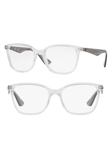 Women's Ray-Ban 52mm Optical Glasses - Transparent White