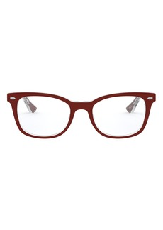 Women's Ray-Ban 53mm Optical Glasses - Brown Gradient