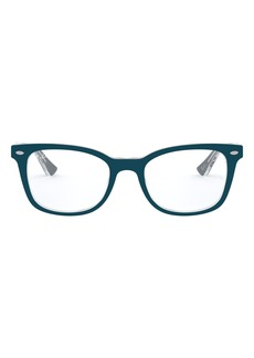 Women's Ray-Ban 53mm Optical Glasses - Transparent Green