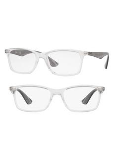 Women's Ray-Ban 56mm Optical Glasses - Transparent