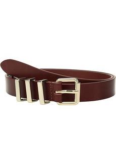 Rebecca Minkoff 25 mm Flat Strap Smooth Leather Belts