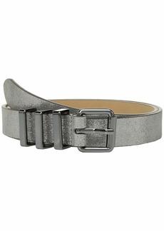 Rebecca Minkoff 25 mm Smooth or Shimmer Metallic Core Belt