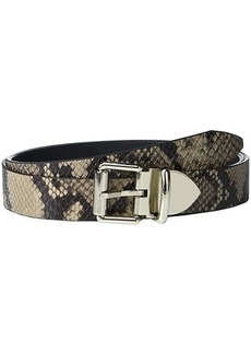 Rebecca Minkoff 30 mm Reversible Snake Belt