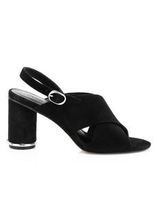 Rebecca Minkoff Aaiden Suede Slingback Sandals