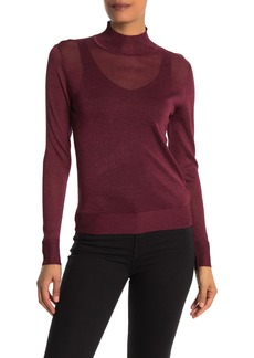 Rebecca Minkoff Adele Mock Neck Sweater