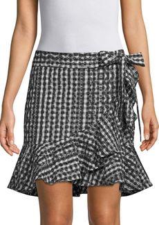 Rebecca Minkoff Alice Cotton Wrap Skirt