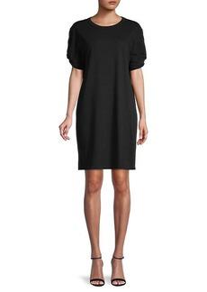 Rebecca Minkoff Ally Puff-Sleeve Shift Dress