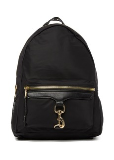 Rebecca Minkoff Always On MAB Leather Nylon Backpack