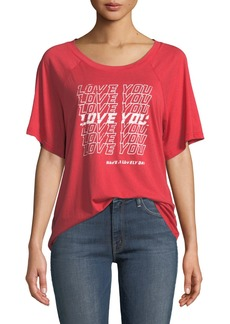 Rebecca Minkoff Ava Love You Graphic Tee