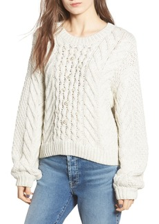 Rebecca Minkoff Blake Faux Pearl Detail Sweater