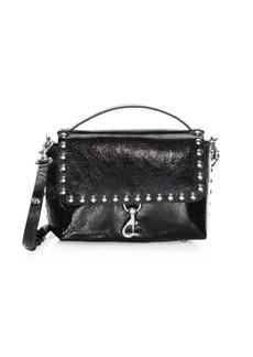 Rebecca Minkoff Medium Blythe Distressed Leather Crossbody Bag