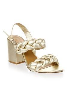 Rebecca Minkoff Braided Leather Slingback Sandals