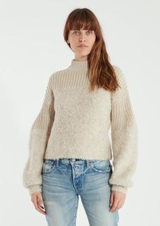 Rebecca Minkoff Chase Rib Turtleneck Sweater