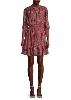 Rebecca Minkoff Chloe Floral Smocked Dress