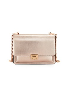 Rebecca Minkoff Christy Medium Metallic Leather Shoulder Bag
