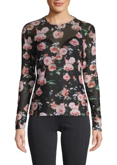 Rebecca Minkoff Cyder Floral Top
