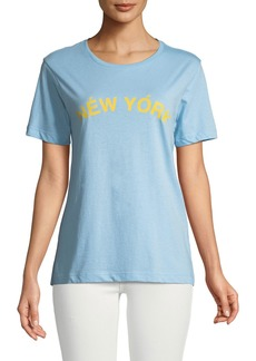 Rebecca Minkoff Delaney Graphic Crewneck Tee