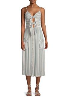 Rebecca Minkoff Derinda Cutout Striped Dress