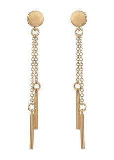 Rebecca Minkoff Double Drop Bar Earrings