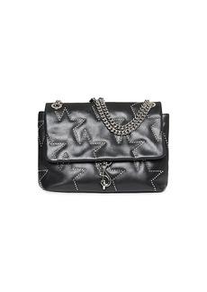 Rebecca Minkoff Edie Star-Studded Leather Shoulder Bag