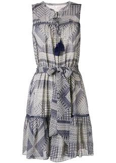 Rebecca Minkoff ethnic print flared dress