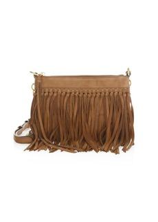Rebecca Minkoff Fringed Leather Crossbody Handbag