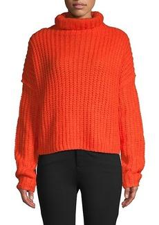 Rebecca Minkoff Funnelneck Long-Sleeve Sweater