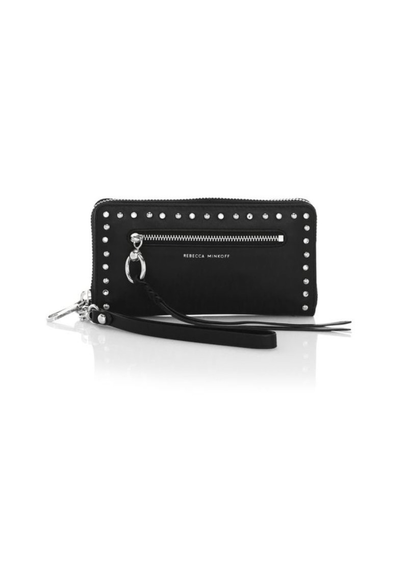 Rebecca Minkoff Gabby Leather Phone Wallet