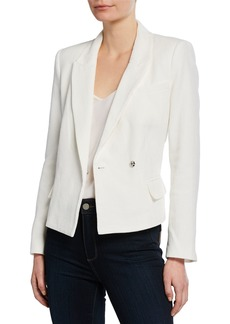 Rebecca Minkoff Gaga Asymmetrical Single-Button Jacket