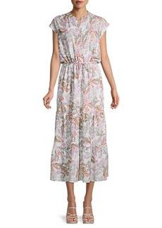 Rebecca Minkoff Giselle Floral Midi Dress