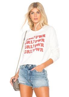 Rebecca Minkoff GRL PWR Graphic Sweatshirt