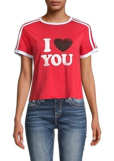 Rebecca Minkoff I Heart You Short T-Shirt