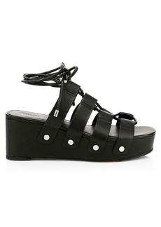 Rebecca Minkoff Iven Gladiator Platform Wedge Sandals