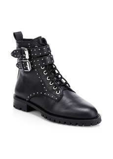 Rebecca Minkoff Jaiden Studded Leather Combat Boots