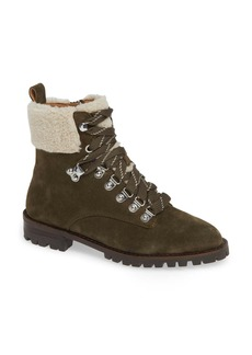 Rebecca Minkoff Jaylin Faux Shearling Cuff Hiking Boot