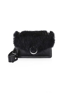Rebecca Minkoff Jean Faux Fur & Leather Crossbody