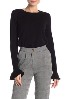Rebecca Minkoff Juliette Flared Cuff Wool Blend Sweater