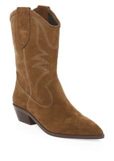 Rebecca Minkoff Kaiegan Suede Cowboy Boots