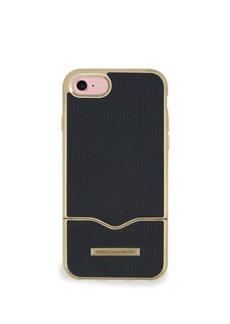 Rebecca Minkoff Leather Inlay iPhone 7 Slider Case