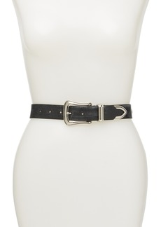 Rebecca Minkoff Leather Star Studded Belt