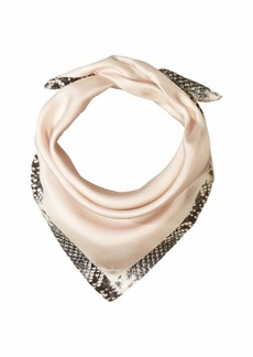 Rebecca Minkoff Love Snake Silk Bandana