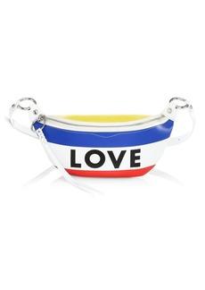 Rebecca Minkoff Love Stripe Leather Belt Bag