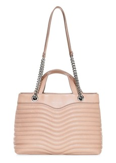 Rebecca Minkoff M.A.B. Quilted Leather Satchel